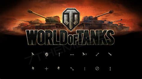 chrome themes world of tanks world of tanks набор курсоров для windows 7 8 10