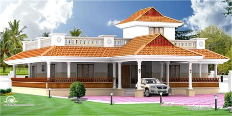 single home house design kerala single floor house single