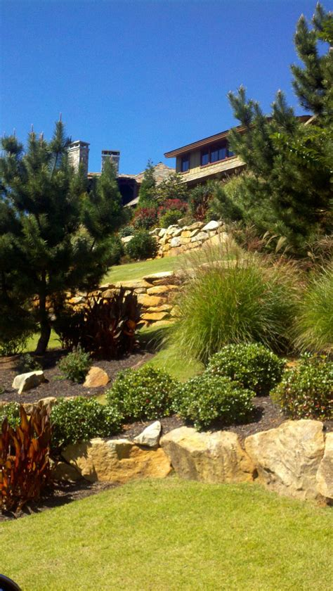 custom landscaping design greenville sc