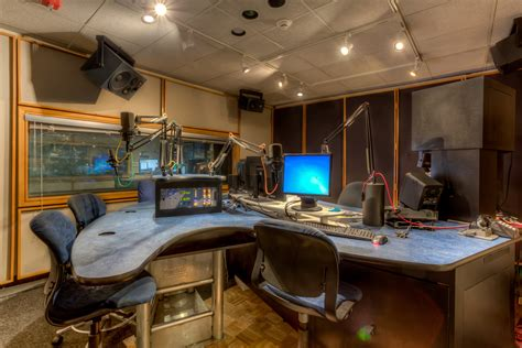 Radio Station Interior Design mccormick construction kroq radio station