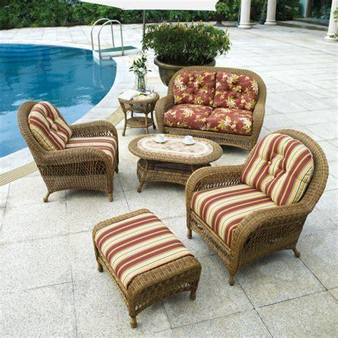 Popular of Wicker Patio Furniture Cushions Backyard Design