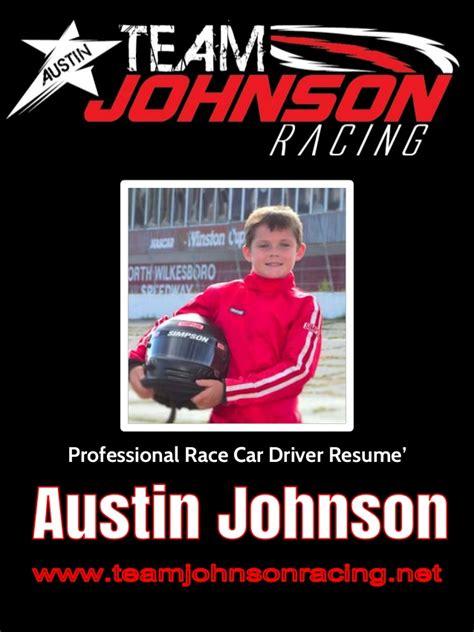 Race Car Driver Resume Sle