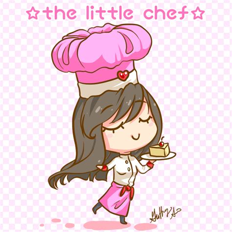 chibi pastry chef buscar  google dibujos pinturas