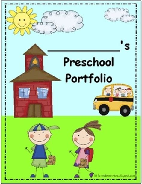 23 Best Images About Preschool End Of Year Celebration On Pinterest Preschool Graduation Children S Portfolio Template Free