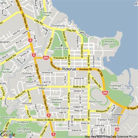 printable map queenstown rotorua carte et image satellite