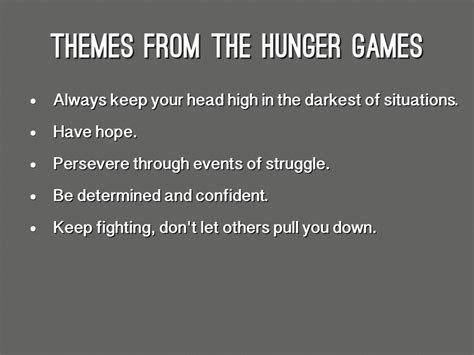 hunger games themes hope suzanne collins author study by kevin lu