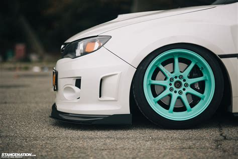 subaru teal breaking necks on tiffany s ian s subaru sti