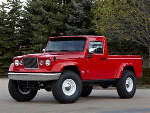 jeep up truck may not be a wrangler variant