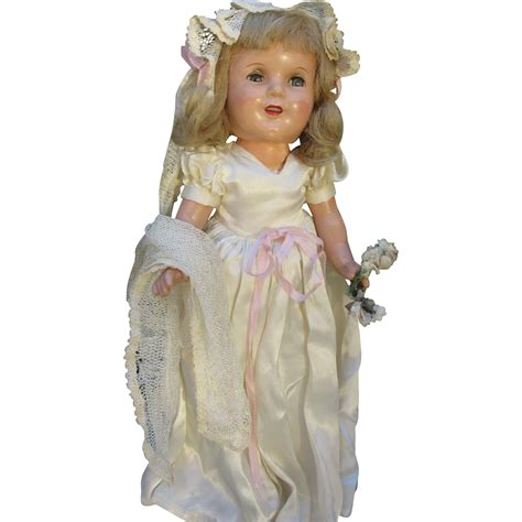 1940s composition doll composition 1940s doll from rubylane sold on ruby