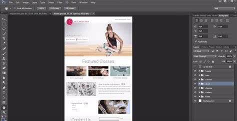 tutorial responsive web design photoshop 10 free video series for learning to design in photoshop