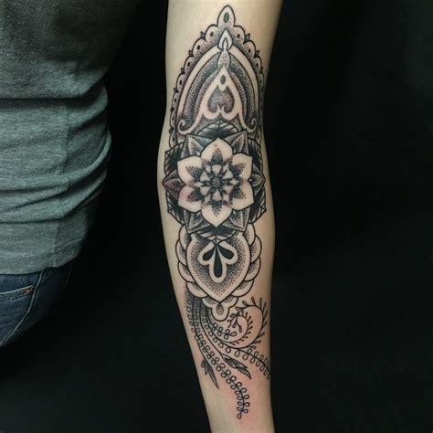 Dotwork Arm Tattoo   nature dotwork arm tattoo best tattoo ideas gallery