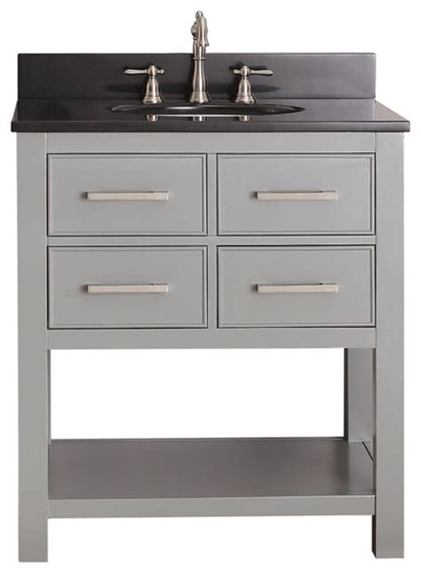 30 in bathroom vanity combo avanity brooks 30 in vanity combo contemporary