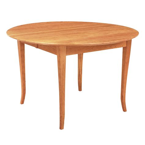 round shaker style dining table solid cherry wood furnitu