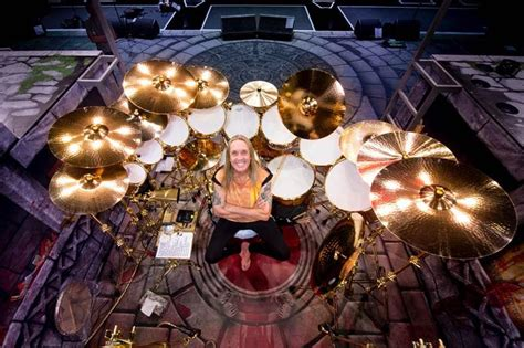 New Homemaiden Collection by Drummerszone News Nicko Mcbrain S New Sonor Kit And
