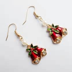 2015fashion popular christmas earrings gold plated jewelry