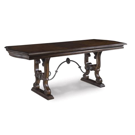 Coronado Counter Height Trestle Table By A R T Furniture
