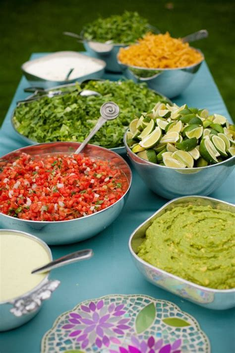 234 Best Images About Backyard Diy Bbq Casual Wedding Taco Buffet Ideas
