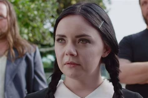 how wednesday addams would react to catcalling watch wednesday addams react to catcalling in the street