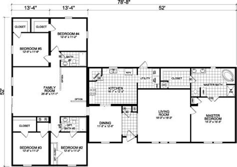 5 bedroom mobile homes 23 best images about floor plan on pinterest house plans