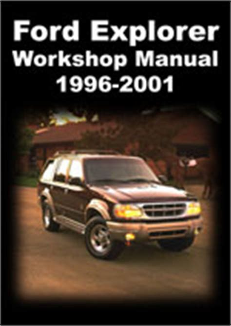 manual repair free 1996 ford bronco navigation system ford explorer 1996 2001 workshop repair manuals