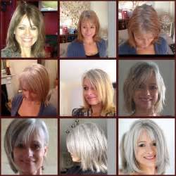 images of grey hair in transisition 17 migliori idee su gray hair transition su pinterest