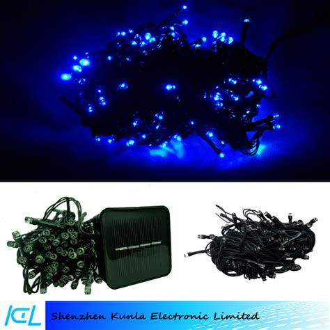hot solar powered led christmas lights led diamond string