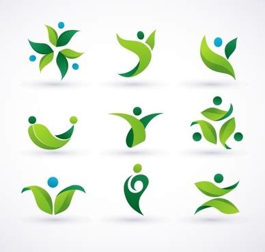 green pattern logo free green logo vector free vector download 74 095 free