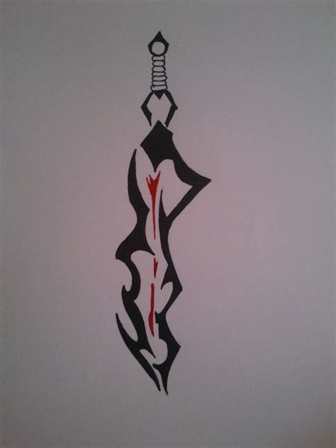 tribal sword tattoo spartan sword designs www imgkid the image