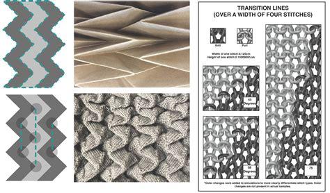 Self Folding Paper - fibers free text self folding textiles through