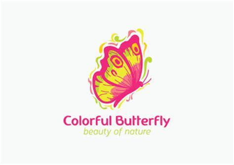 colorful butterfly logo 33 colorful butterfly logo designs ideas exles