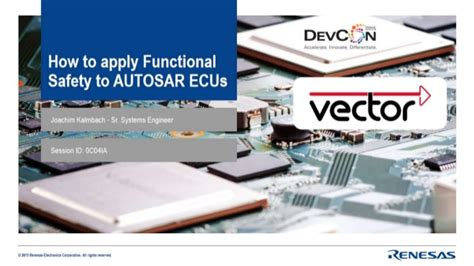 how to apply functional safety to autosar ecu s