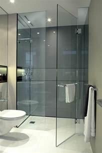 Charmant Castorama Salle De Bain Douche #1: salle-de-bain-blanche-et-grise-douche-a-l-italienne-castorama-blanc-et-gris.jpg