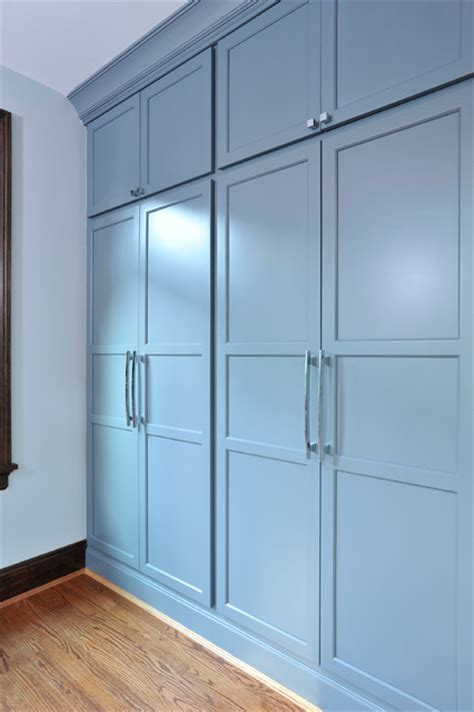 Closets Closets Closets Custom Built Cabinets By The Howland Traditional