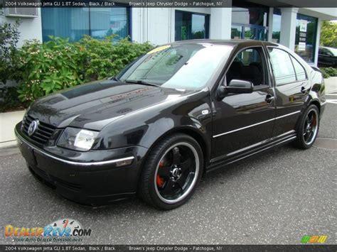 2004 volkswagen jetta gli 1 8t 2004 volkswagen jetta gli 1 8t sedan black black photo