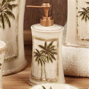 palm tree bathroom decor photos and products ideas