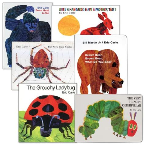 eric carle picture books eric carle book sets set of 6 paperback