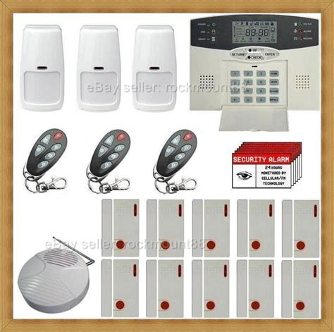top wireless home security system burglar alarm ebay