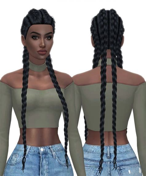 african cc hair for sism4 kenzar sims hallowsims nexus hairstyle sims 4 downloads