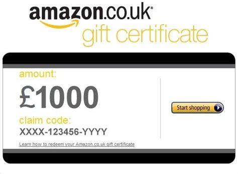 amazon voucher free amazon uk gift card myfreeukpromocode