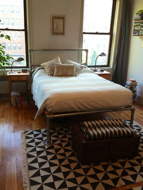build your own bedroom furniture make your own industrial beds to rev your bedroom the