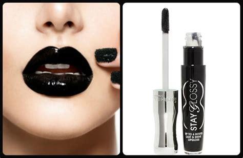 Lipstik Glossy paint your black this fridayy fashion lifestyle fashion