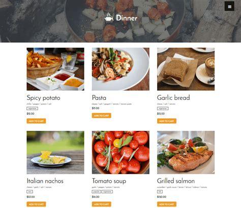 layout of a restaurant review restaurant menu plugin review display your menu boost