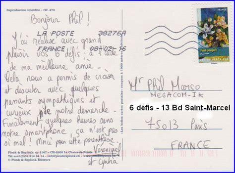 adresse postale lettre 233 lectronique carte postale adresse