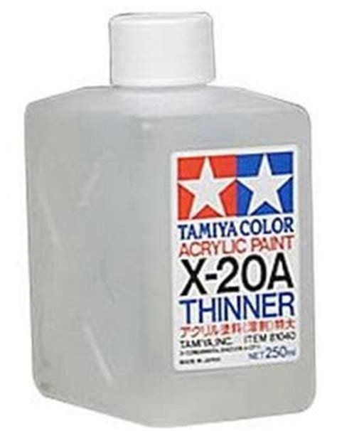 Tamiya Acrylic Thinner 46ml tamiya thinner x20a x 20a x20 x 20 81030 46ml