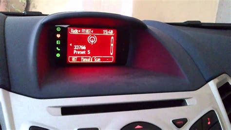 ford fiesta warning lights ford fiesta mk7 bluetooth malfunction youtube