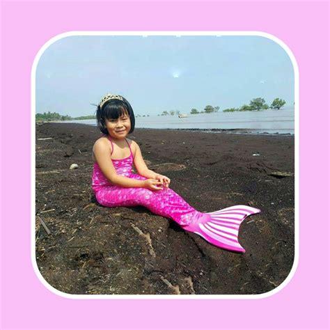 Baju Renang Putri Duyung Mermaidtail Ariel Size Xl 11 13 Th 31 37 Kg harga baju mermaid toko bunda