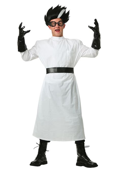 halloween costumes adult deluxe mad scientist costume