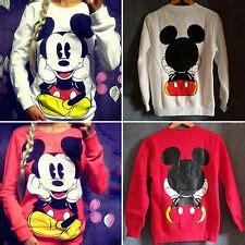 Lq Sweater Mickey By Girly Fashion mickey mouse sweatshirt ebay