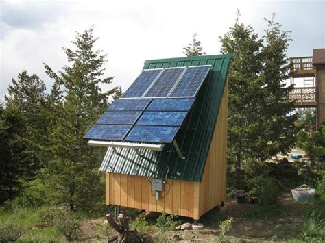 Solar Panel For Shed by Solar Shed Upgrade