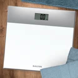 White Bathroom Scales by Salter Glass Digital Bathroom Scales Silver And White